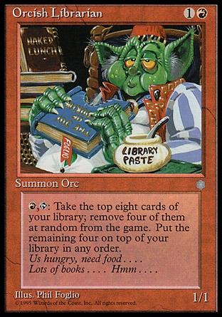 Orcish Librarian